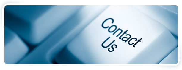 Contact Us banner - contact us written on a keyboard key